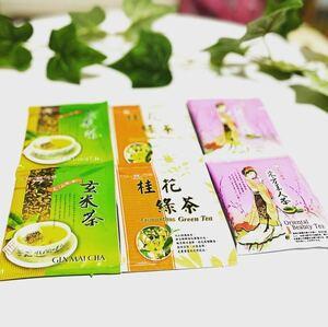 天仁茗茶 玄米茶 桂花緑茶 東方美人茶 6個セット 台湾茶 中国語 中国茶 紅茶 青汁三昧 タピオカ 台湾 日本 烏龍茶 ジャスミン