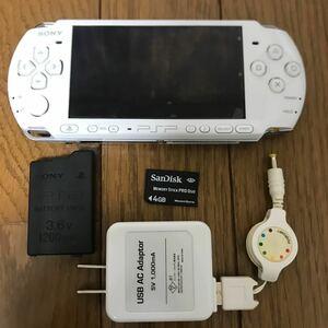 PSP PSP-3000 ホワイト