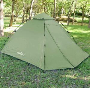 IREGRO キャンプテント ワンタッチ式 2~3人用 サンシェードテント
