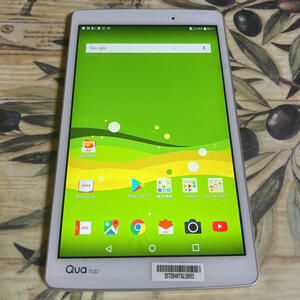 [AOX 465] ☆ ★ lowest price! ★ ☆ QUA TAB PX ○ Android7 ○ Waterproof function ○ Bath or game tablet