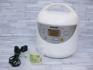 難あり◎national ナショナル 炊飯ジャー 炊飯器 SR-CL05◎H-88