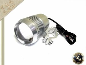 CREE製 U2 オートバイ LEDヘッドライト 30W ホワイト 防水 砲弾 フォグランプ ワークライト プロジェクター