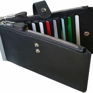 カードケース 大容量 19枚収納 小銭入れ 本革 カード入れ長財布 男女兼用