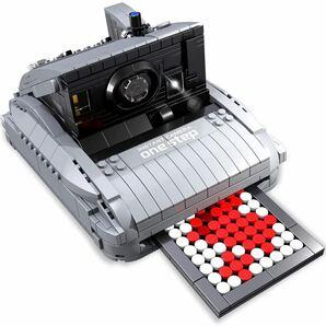 787 PCS ブロックセット レトロカメラ ビルディングブロック知育玩具