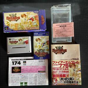 スーパーファミコンソフト ファイアーエムブレム トラキア776 パッケージ版 箱・説明書付き 攻略本と遊び方シート付き