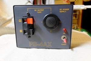 ジャンク箱の中から DAIWA ダイワ 安定化電源 PS-4AX 通電確認