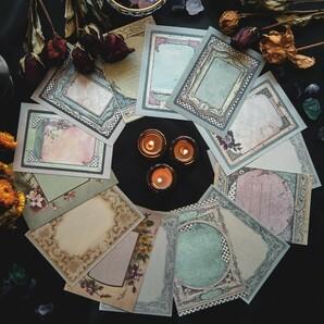 ヴィンテージ メモパッド 8種 240枚 メモ帳 レトロ コラージュ 海外1
