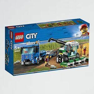 新品 目玉 シティ レゴ(LEGO) G-Y7 男の子 車 収穫トラクタ-と輸送車 60223 ブロック おもちゃ