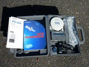 SONY ポータブルGPSレシーバー(IPS-360) ジャンク品