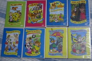 DVD DWE Zippy 英語システム 8枚セット ズィッピー 子供・知育教材