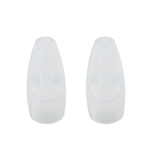小2個 PLA04 S-502/503、S-302/303用 透明シリコンノズル
