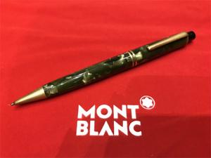 ■■■MONTBLANC モンブラン メカニカルペンシル Pix ダークグリーンマーブル 1940'~50'■■■