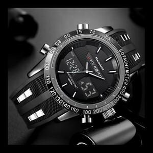 特価!高級ブランド腕時計 男性用スポーツ腕時計 防水 LED デジタルクォーツメンズミリタリー腕時計 時計男性レロジオ