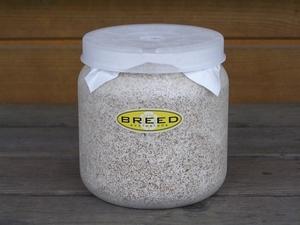 高品質・高性能 BREED菌糸ビン 1500ml 1本(ブリード 菌糸瓶 菌床)希望本数可能