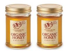 久保養蜂園 オーガニック 蜂蜜 はちみつ 2個★淀川製鋼所株主優待品