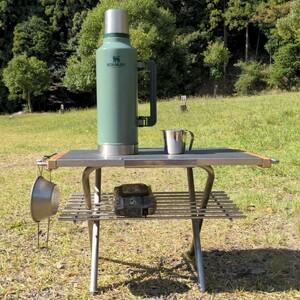 ユニフレーム 焚き火テーブル用 カスタムパーツ サイドバー DIY