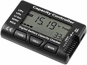 As Shown 1-7S 黒 Guokukey 容量テスター 【航空機専用の】バッテリーチェッカー 1-7Sリポ電池 コントロ