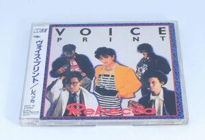 レベッカ「VOICE PRINT ヴォイス・プリント」デビューアルバム ※CD選書【良品/CD】NOKKO 稀少 / レア #3764