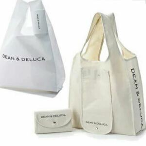 DEAN&DELUCA ミニマムエコバッグ ショッピングバッグ 2点セット ディーン&デルーカ