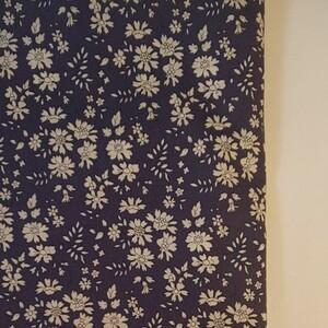 リバティ タナローン カペル ネイビー系 生地巾×50cm