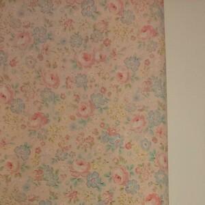 YUWA 松山敦子さん 30's Collection 綿100% 花柄 ピンク系 生地巾約110cm×約50cm