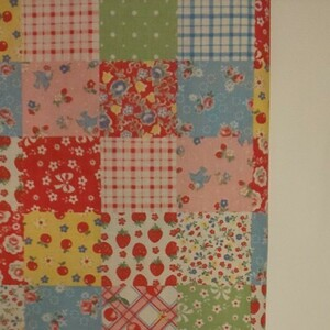 YUWA 松山敦子さん 30's Collection 綿100% パッチワーク柄 生地巾約110cm×約50cm