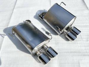 【希少】WRX VAB STI 低背圧 パフォーマンス マフラー デュアル オプション リア スバル