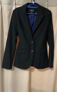 h&m テーラードジャケット 面接用 女性スーツ