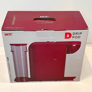UCC DRIP POD チェリーレッド (DP1・R) 【新品】【未開封品】 コーヒーメーカー DP1 UCCドリップポッド