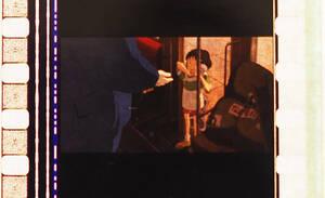 千と千尋の神隠し/三鷹の森ジブリ美術館/フィルムブックマーカー/しおり/宮崎駿/販売終了/ラミネート/マンマユート/限定グッズ/希少/セン28