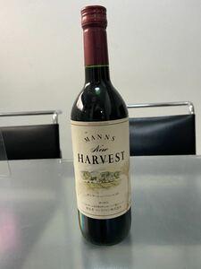 【未開栓】赤ワイン マンズワイン ニューハーベスト