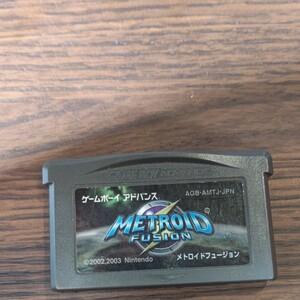 メトロイド フュージョン ゲームボーイアドバンス GBA ソフトのみ メトロイドフュージョン