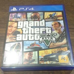 PS4 グランドセフトオート5 GTA Grand Theft Auto V ソフト