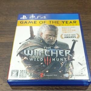 PS4 ウィッチャー3 ワイルドハント ゲームオブザイヤーエディション WITCHER3 WILD HUNT GOTY ソフト