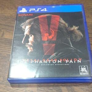 PS4 ソフト メタルギアソリッド5 ファントムペイン MGSV