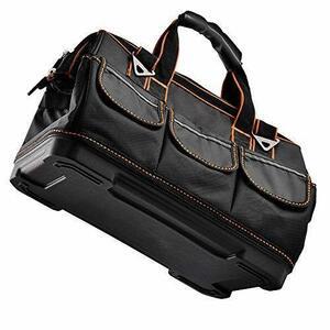 【期間限定】ツールバッグ 工具バッグ 道具袋 工具差し入れ ベルト付 工具袋 1680Dオックスフォード 強化底 大口収納 ZWZS