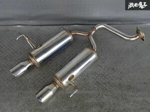 selling out there is no final result Mugen Mugen MUGEN GD1 GD3 Fit L13A L15A dual center pipe muffler 03S02422 translation have * shelves 1M11