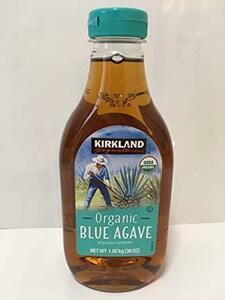 新品1個 KIRKLAND SIGNATURE カークランドシグネチャー オーガニック ブルーアガベ シロップ 1.49CY
