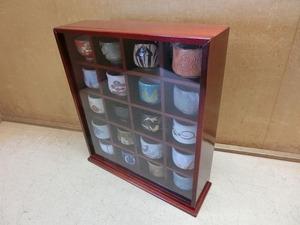よZ9S お猪口 20個まとめ 木箱ケース付 ぐい呑み 酒器 工芸品 コレクション インテリア 雑貨