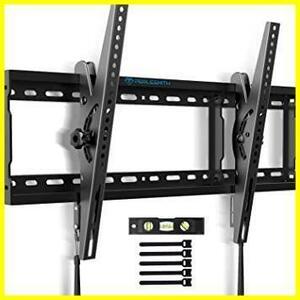 新品ブラック PERLESMITH テレビ壁掛け金具 37~70インチ 液晶テレビ対応 耐荷重60kg 左右移動式 ALFU