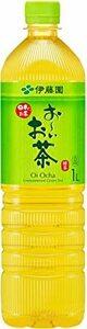 緑 伊藤園 おーいお茶 緑茶 スリムボトル 1000ml×12本