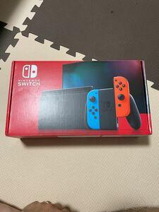新古品 Nintendo Switch ネオン