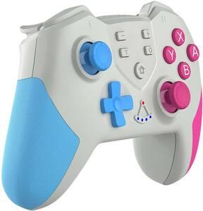 Switch コントローラー 無線ワイヤレス TURBO連射機能付 HD振動 6軸ジャイロセンサー NFC Amiibo Bluetooth Nintendo Switch