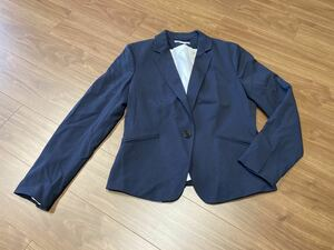 H&M テーラードジャケット(ネイビー)