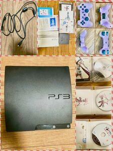 PlayStation3 + コントローラー + torne + FF13 + FF13-2 HDMI&電源ケーブル無 ジャンク品