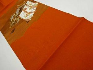 5304695: 紫式部・几帳模様織り出し名古屋帯
