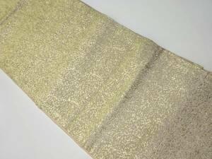 5382349: アンティーク 花模様織り出し名古屋帯(着用可)