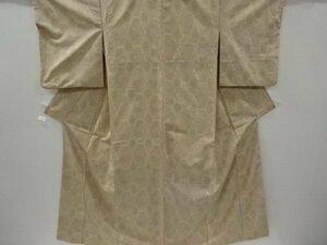 4732258: アンティーク 菱に菊模様織り出し手織り紬着物
