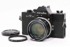ミノルタ Minolta SRT 101 ブラック / MINOLTA MC ROKKOR-PF 58mm F1.4 #5884