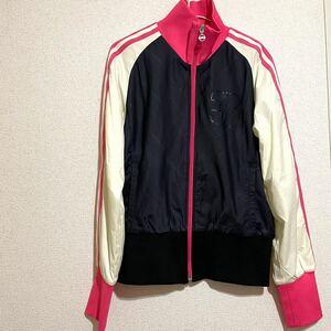 adidas ナイロンジャケット ジャージ スポーツウェア トラックジャケット